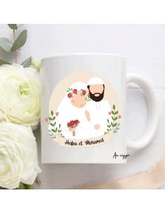 Mug jeunes mariés