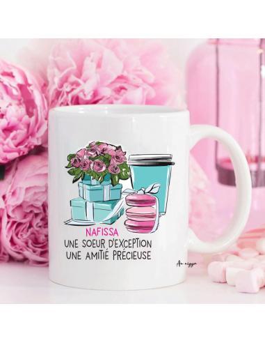 Mug Soeur d'Exception personnalisé
