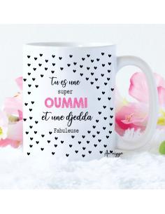 Mug Super Oummi et Djedda...