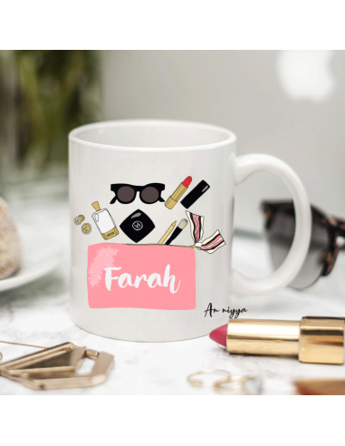 Mug personnalisé Make-up