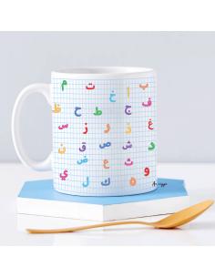 Mug alphabet arabe...