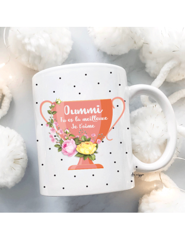 Mug Meilleure Maman Personnalisable
