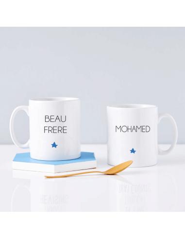 Mug Beau Frère Personnalisable