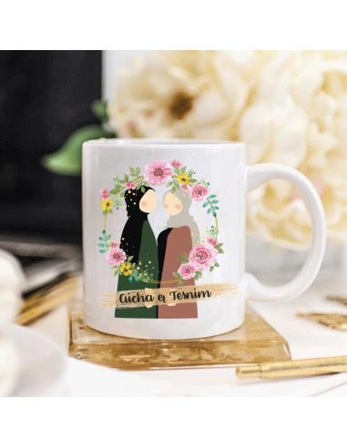 Mug Soeurs Duo Flower