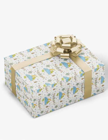 Emballage Cadeau Eid Mubarak Lanterne