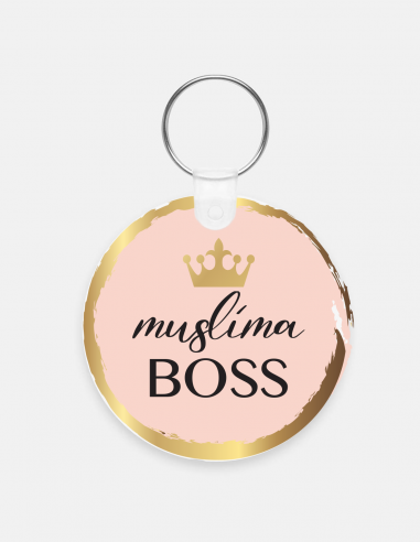 Porté-clés Muslima Boss