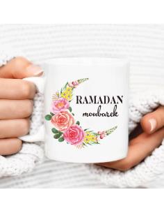 Mug Ramadan Moubarek Flower