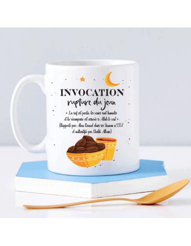 Mug Invocation Rupture Jeun Ramadan